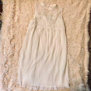 White Dress great for bridal shower